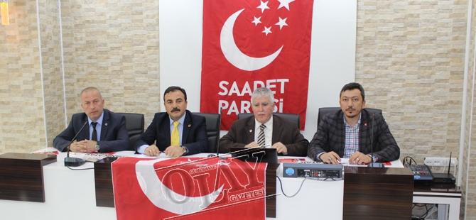 Saadet Partisi Adaylarını Tanıttı galerisi resim 1