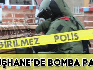 GÜMÜŞHANE'DE BOMBA PANİĞİ