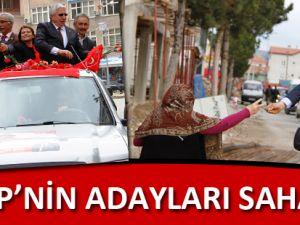 MHP'NİN ADAYLARI SAHADA