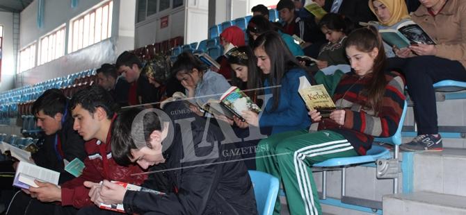 Dünyada 3 Ülke'de Türkiye'de 40 ilde Aynı Anda Kitap Okudular galerisi resim 1