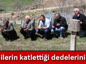 Ermenilerin katlettiği dedelerini andılar