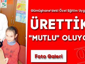 """ÜRETTİKÇE """"MUTLU"""" OLUYORLAR"""