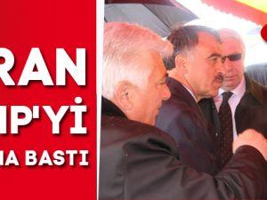 ŞİRAN MHP'Yİ BAĞRINA BASTI