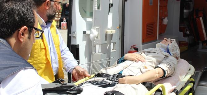 Gümüşhane'de Trafik Kazası:5 Yaralı galerisi resim 1
