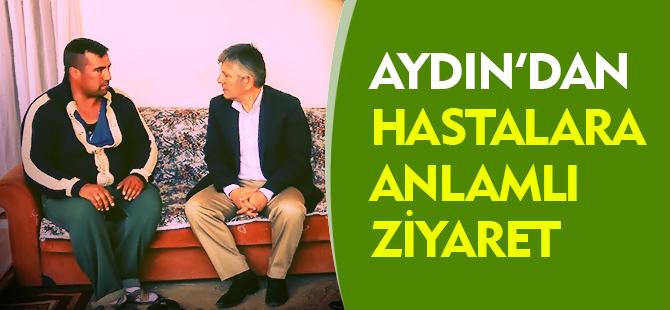 AYDIN'DAN ZİYARETLER