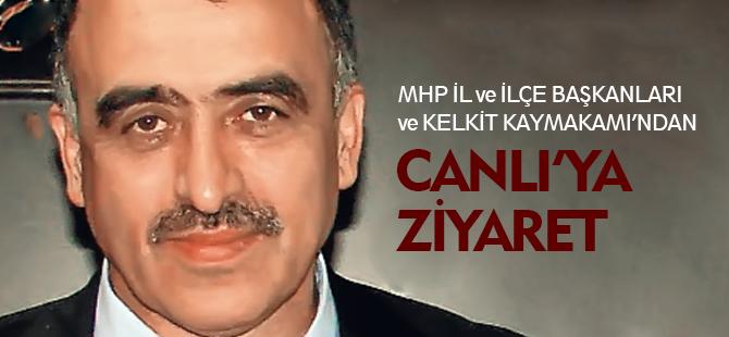 CANLI'YA ZİYARET