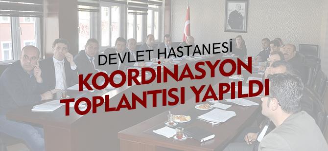 KOORDİNASYON TOPLANTISI