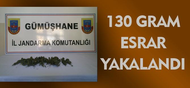 130 GRAM ESRAR YAKALANDI.