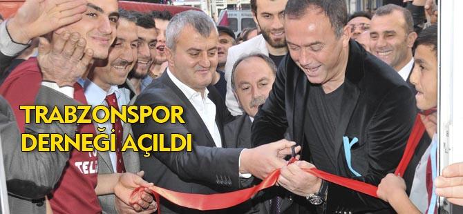 TRABZONSPOR DERNEĞİ AÇILDI