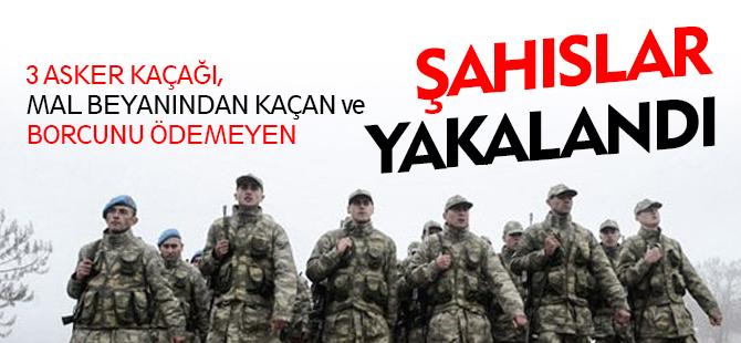 ŞAHISLAR YAKALANDI