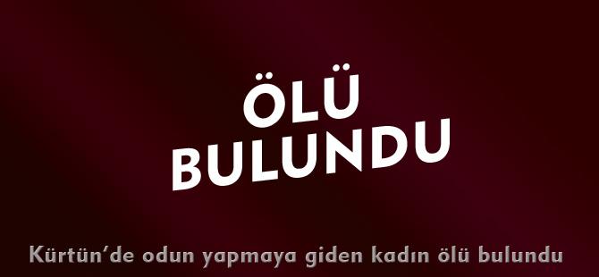 ÖLÜ BULUNDU