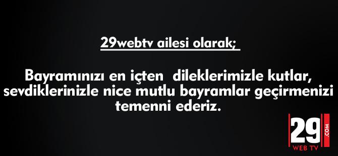 29webtv BAYRAM MESAJI