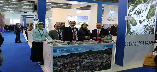Travel Turkey Türizm' fuarında Gümüşhane Rüzgarı