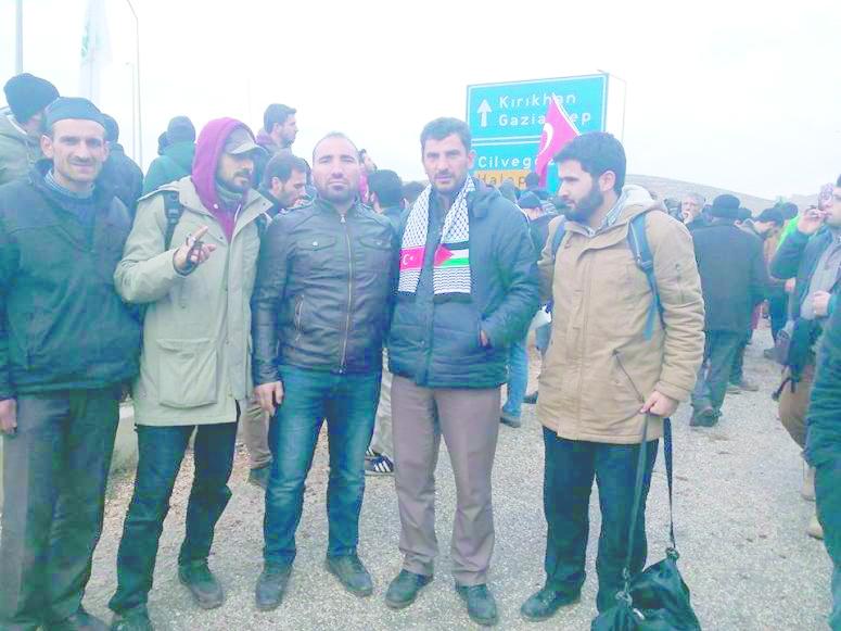 Kelkitliler Halepli Kardeşleri İçin Sınıra Akın Etti