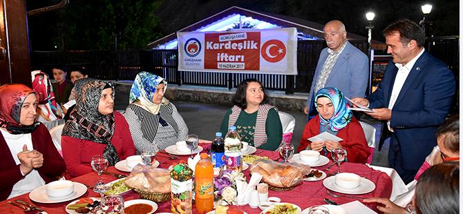 BELEDİYE 'KARDEŞLİK İFTARI' DÜZENLEDİ