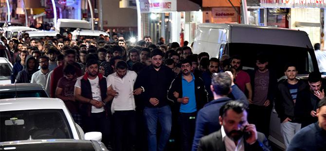 GÜMÜŞHANE'DE ÖĞRENCİLERDEN 'ATAKAN' EYLEMİ