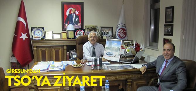 GİRESUN'DAN TSO'YA ZİYARET
