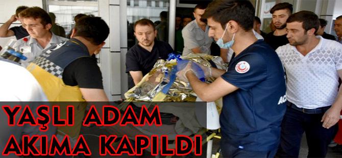 YAŞLI ADAM ELEKTRİK AKIMINA KAPILDI