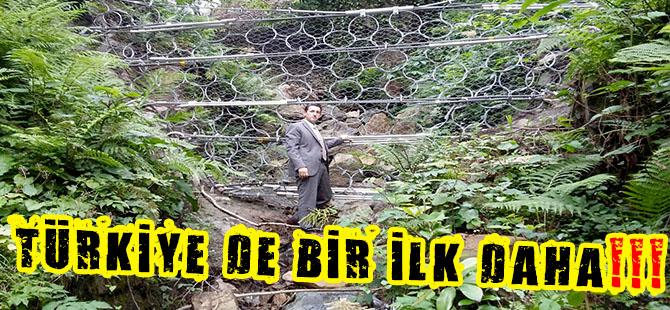 DSİ'DEN TÜRKİYE'DE BİR İLK DAHA