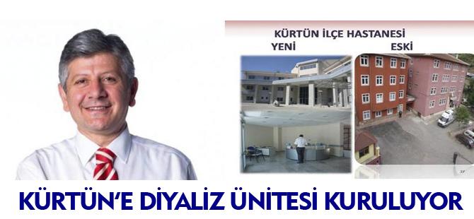KÜRTÜN'E DİYALİZ ÜNİTESİ KURULUYOR