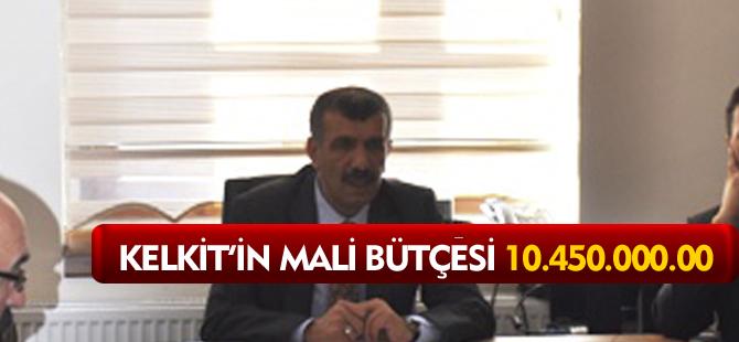 KELKİT'İN MALİ BÜTÇESİ 10.450.000.00