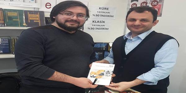 """SUS"" ANKARA KİTAP FUARINDAYDI"