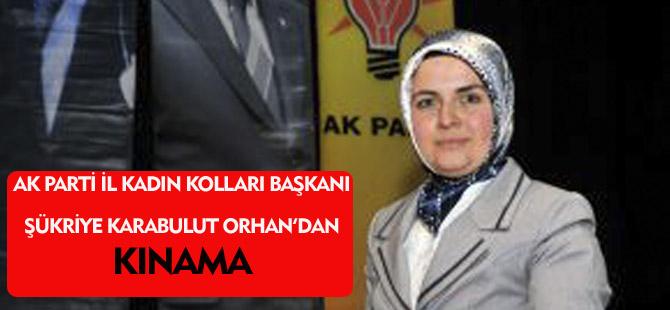 ŞÜKRİYE KARABULUT ORHAN'DAN KINAMA