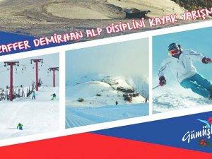 Kurtuluş İçin Zigana'da Alp Disiplini Kayak Yarışması Düzenlenecek