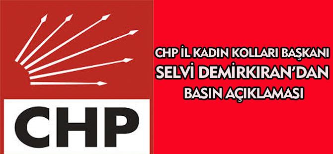 SELVİ DEMİRKIRAN'DAN BASIN AÇIKLAMASI