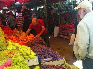 Salı Pazarında Sadece Meyve Sebze Olacak