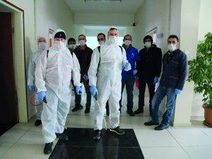 GÜ'de Koronavirüs Önlemi