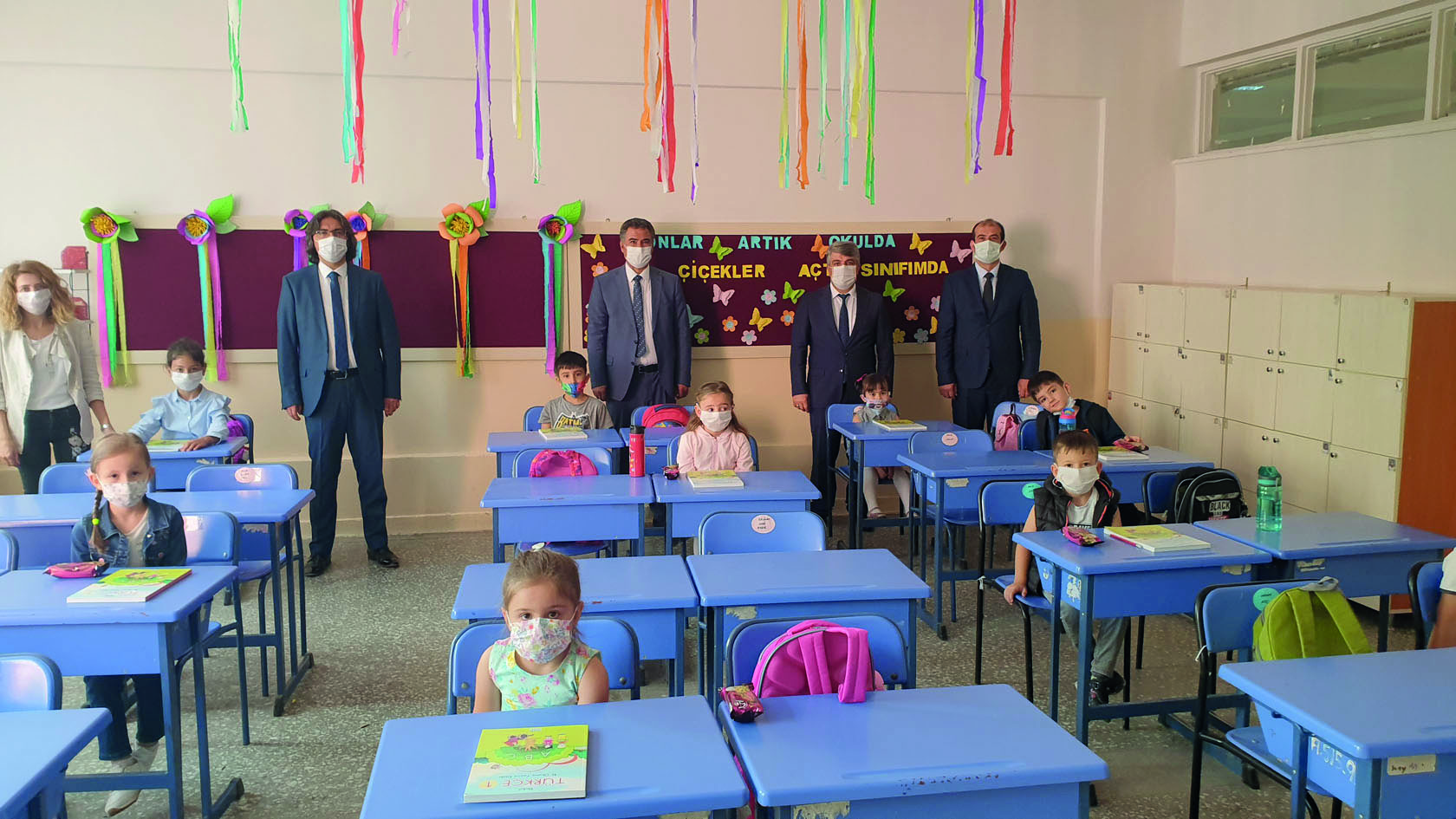 Anasınıfı ve İlkokul 1'inci Sınıflarda  Yüz Yüze Eğitim Başladı