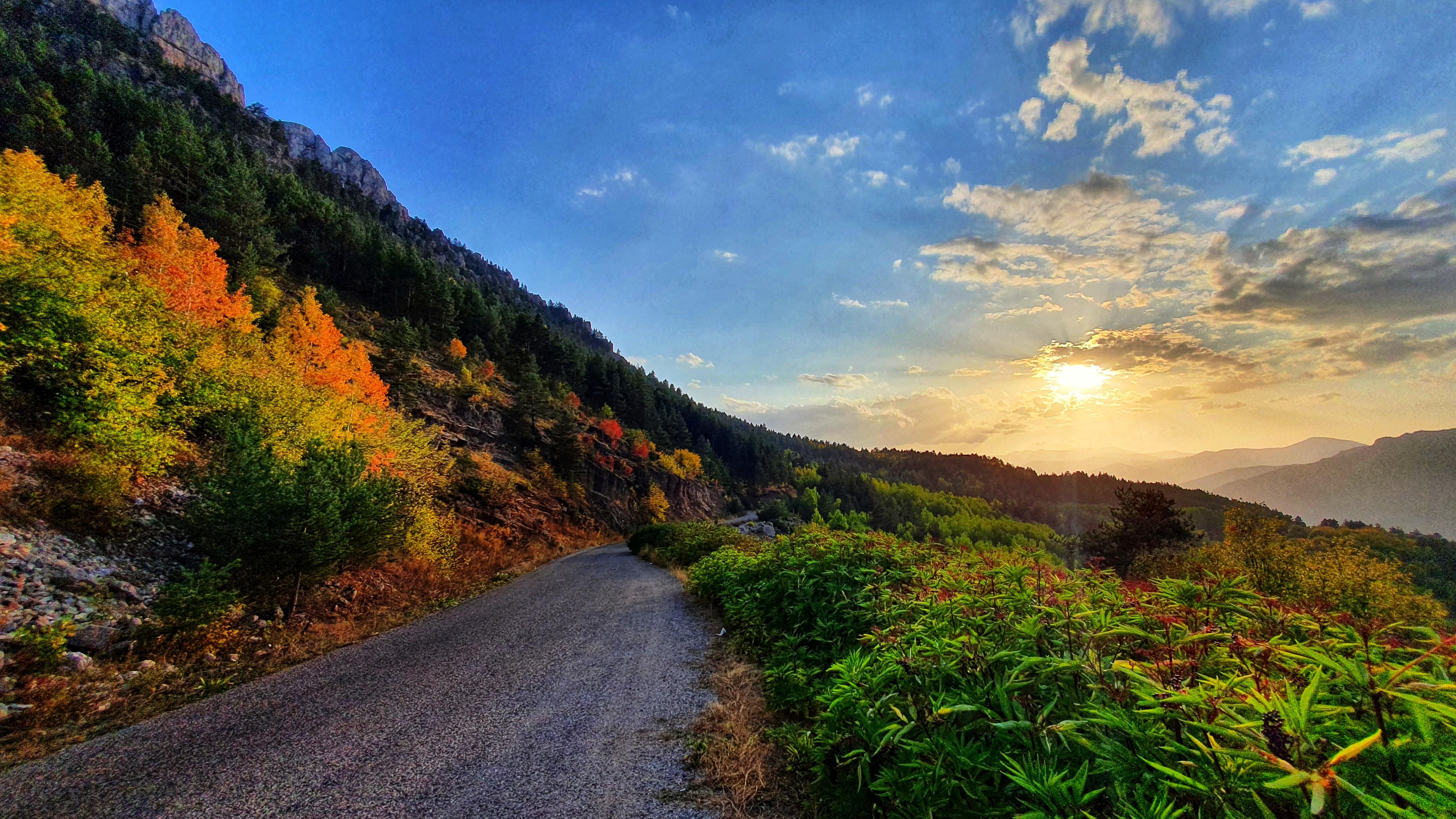 Dağlarda Sonbahar Güzelliği