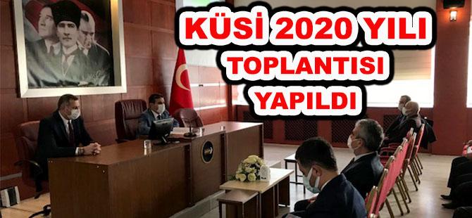 KÜSİ 2020 YILI TOPLANTISI YAPILDI