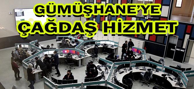 112 Acil Çağrı Merkezi Açıldı GÜMÜŞHANE'YE ÇAĞDAŞ HİZMET