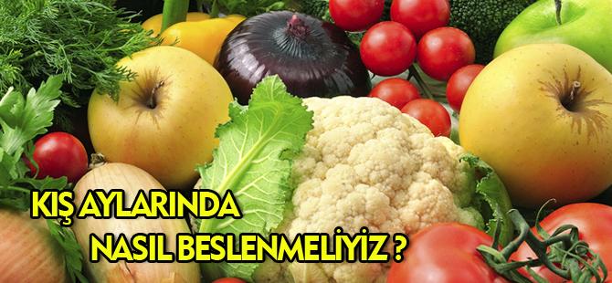 DR. ENGİN PEHLİVAN'DAN BESLENME TAVSİYELERİ