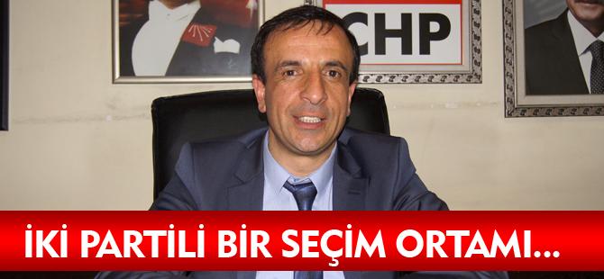 İKİ PARTİLİ SEÇİM ORTAMI...