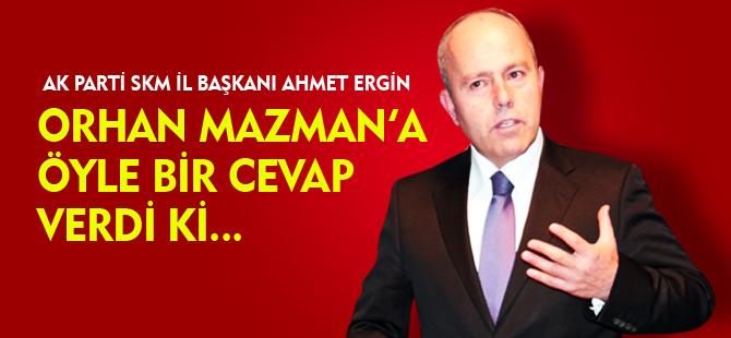 MAZMAN'A ÖYLE BİR CEVAP VERDİ Kİ...
