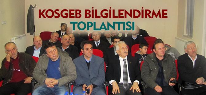 KOSGEB BİLGİLENDİRME TOPLANTISI