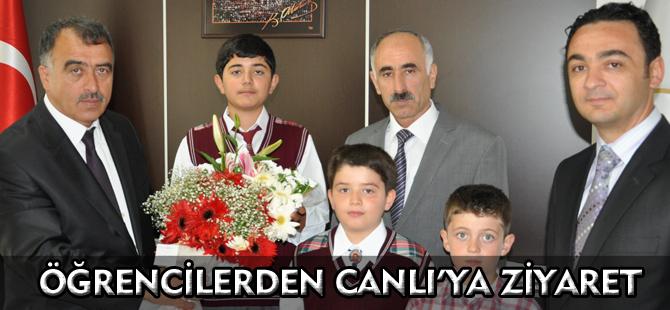ÖĞRENCİLERDEN CANLI'YA ZİYARET