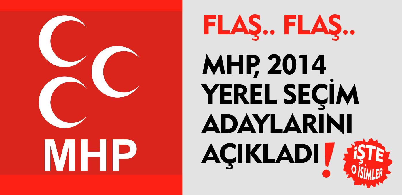 MHP 2014 YEREL SEÇİMLER BELEDİYE BAŞKAN ADAYLARI