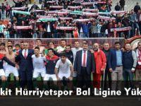 Kelkit Hürriyetspor Bal Ligine Yükseldi