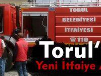 Torul'a yeni itfaiye aracı