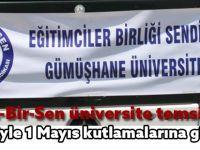 Eğitim-Bir-Sen üniversite temsilciliği 46 kişiyle 1 Mayıs kutlamalarına gidecek