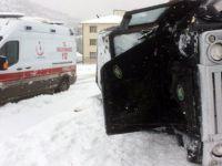 Gümüşhane'de 2 kazada 3 yaralı