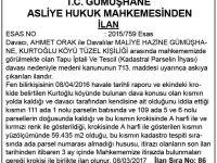 RESMİ İLAN 11.03.2017
