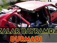 Kazalar Bayramda da durmadı