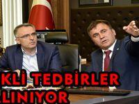 GEREKLİ TEDBİRLER ALINIYOR