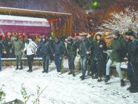 Vatandaşların Kar Sevinci