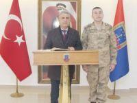 Karataş'tan il Jandarma Komutanına Ziyaret